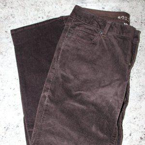 Brown Corduroy Pants Size 4